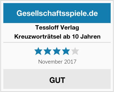 Tessloff Verlag Kreuzworträtsel ab 10 Jahren Test