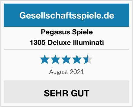 Pegasus Spiele 1305 Deluxe Illuminati Test