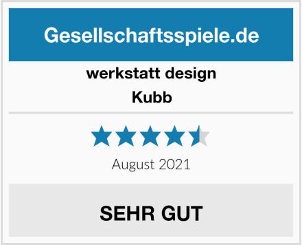 Werkstatt Design Kubb Test