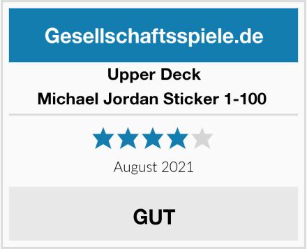 Upper Deck Michael Jordan Sticker 1-100  Test