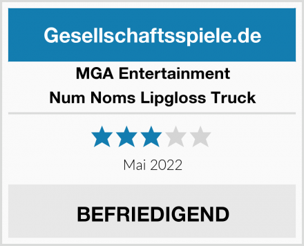MGA Entertainment Num Noms Lipgloss Truck Test