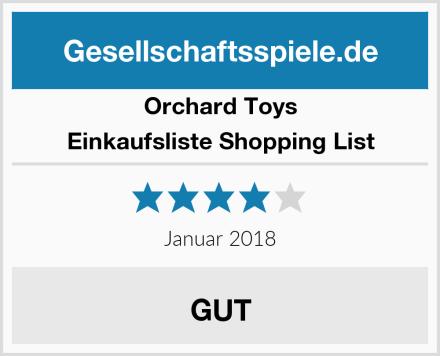 Orchard Toys Einkaufsliste Shopping List Test