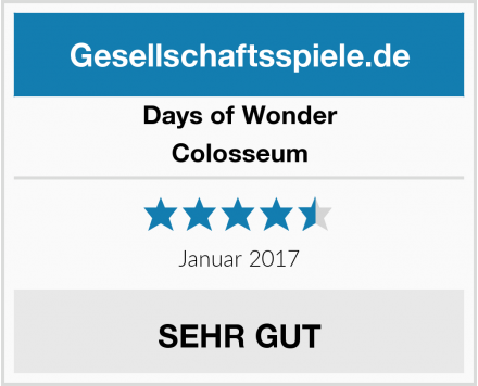 Days of Wonder Colosseum Test
