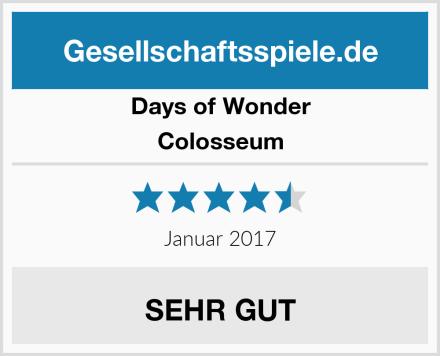Days of Wonder Colosseum Test