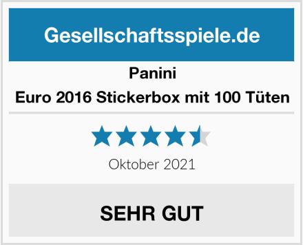 Panini Euro 2016 Stickerbox mit 100 Tüten Test