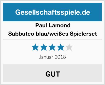 Paul Lamond Subbuteo blau/weißes Spielerset Test