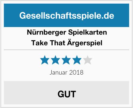 Nürnberger Spielkarten Take That Ärgerspiel Test