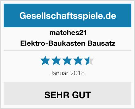 matches21 Elektro-Baukasten Bausatz Test