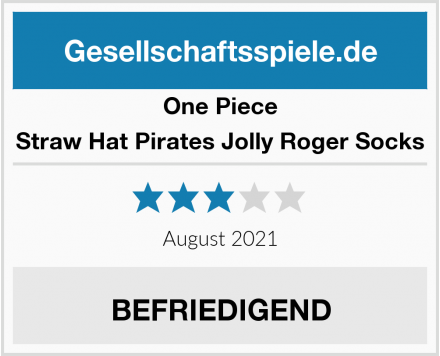 One Piece Straw Hat Pirates Jolly Roger Socks Test