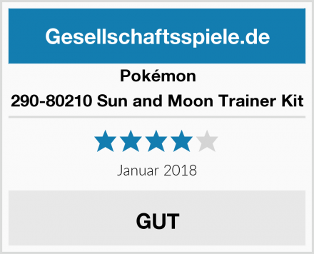 Pokémon 290-80210 Sun and Moon Trainer Kit Test