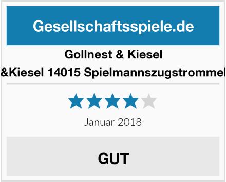 Gollnest & Kiesel &Kiesel 14015 Spielmannszugstrommel Test
