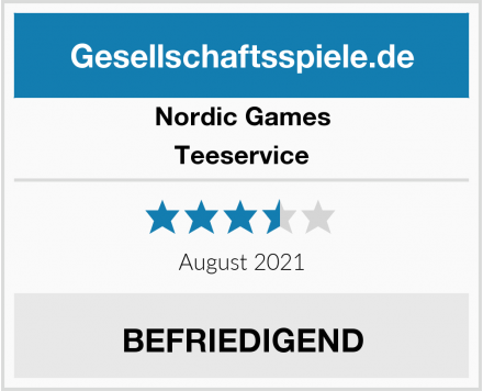 Nordic Games Teeservice Test