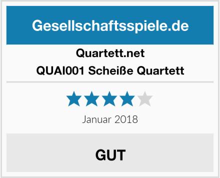 Quartett.net QUAI001 Scheiße Quartett Test