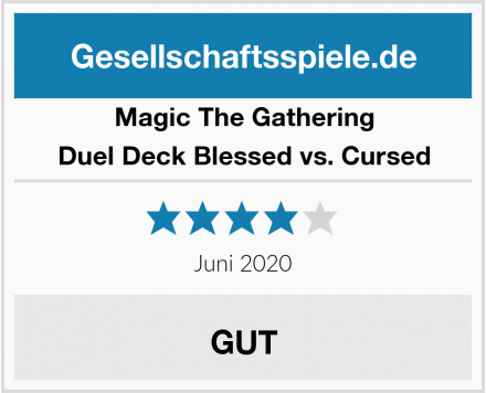 Magic The Gathering Duel Deck Blessed vs. Cursed Test
