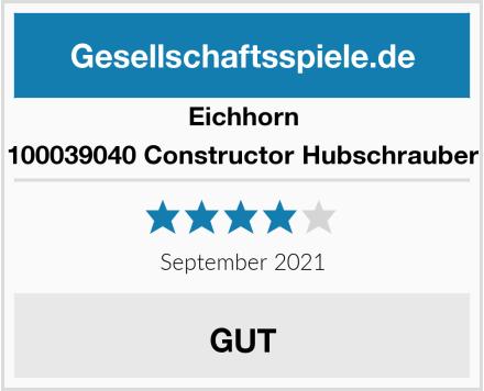 Eichhorn 100039040 Constructor Hubschrauber Test