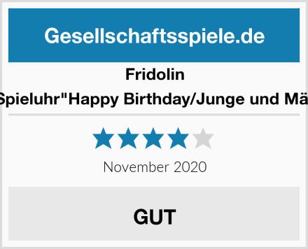 """Fridolin 58341 Spieluhr""""Happy Birthday/Junge und Mädchen"""" Test"""