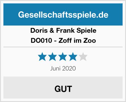 Doris & Frank Spiele DO010 - Zoff im Zoo Test