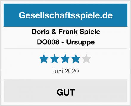 Doris & Frank Spiele DO008 - Ursuppe Test