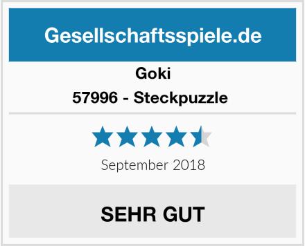 Goki 57996 - Steckpuzzle  Test