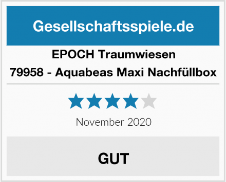 EPOCH Traumwiesen 79958 - Aquabeas Maxi Nachfüllbox Test