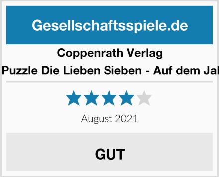 Coppenrath Verlag 21381 - Puzzle Die Lieben Sieben - Auf dem Jahrmarkt Test