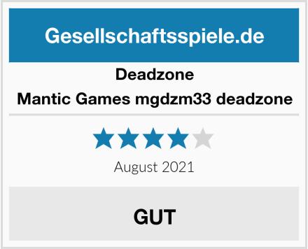 Deadzone Mantic Games mgdzm33 deadzone Test