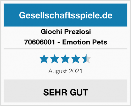 Giochi Preziosi 70606001 - Emotion Pets Test