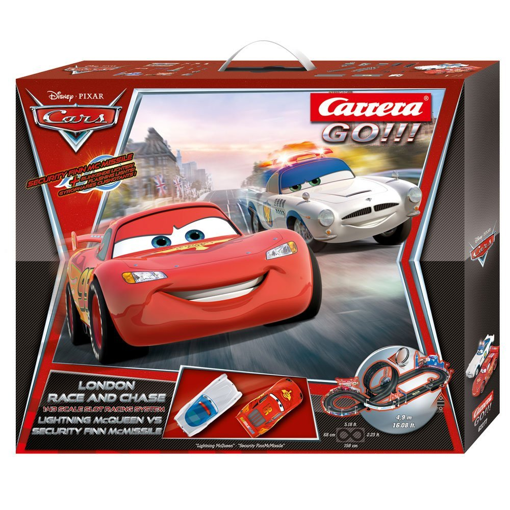Carrera GO!!! Disney Cars London Race und Chase
