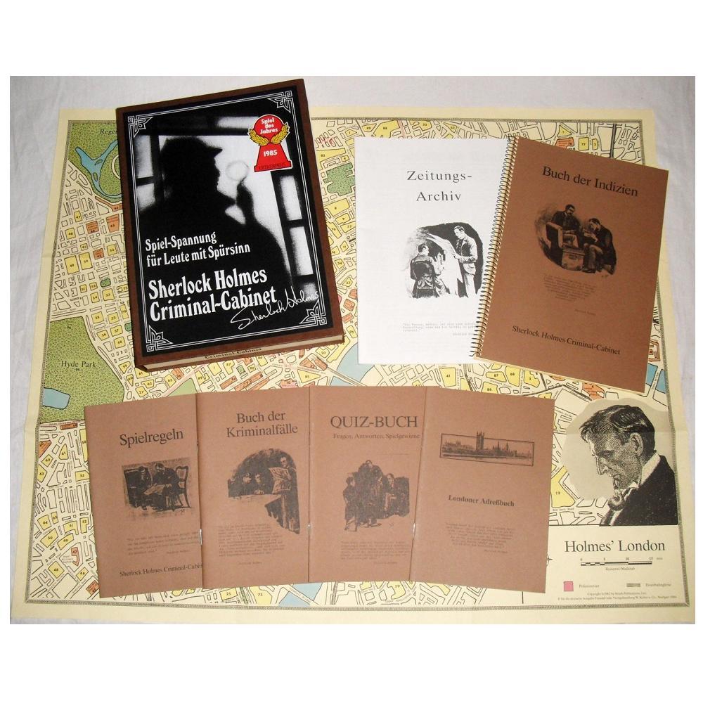 Kosmos Sherlock Holmes Criminal-Cabinet