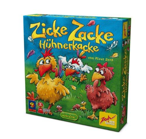 Noris Spiele Zicke Zacke Hühnerkacke