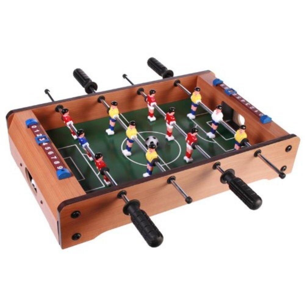 Out of the Blue Holz-Tischfußballspiel