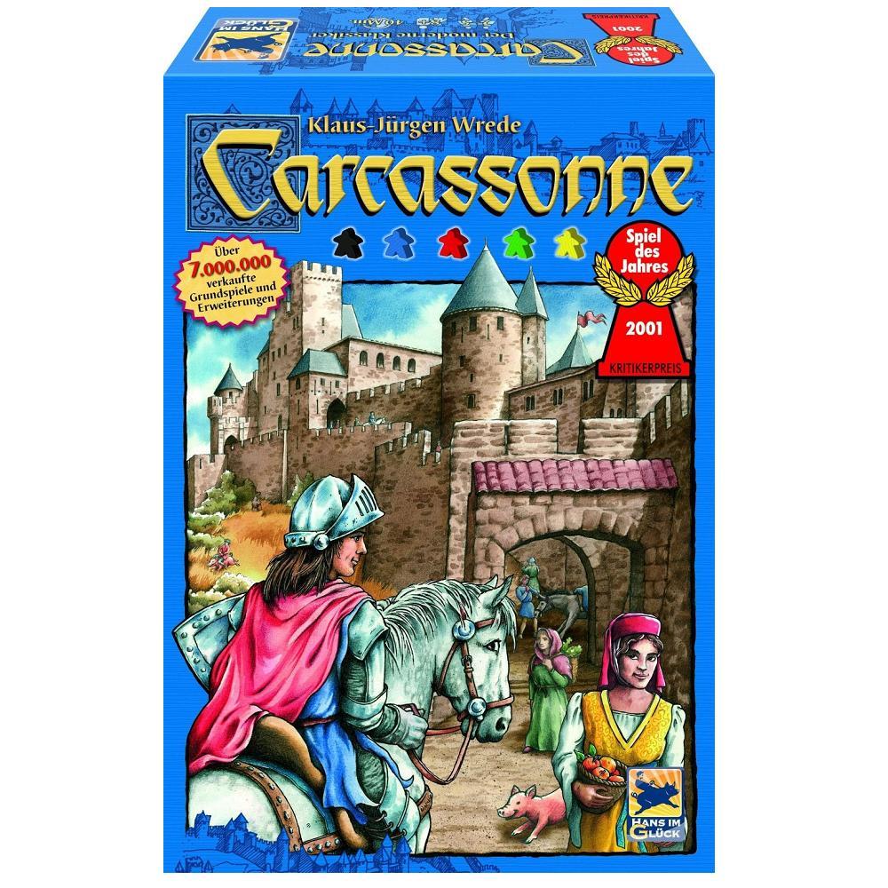 Carcasson Spiel