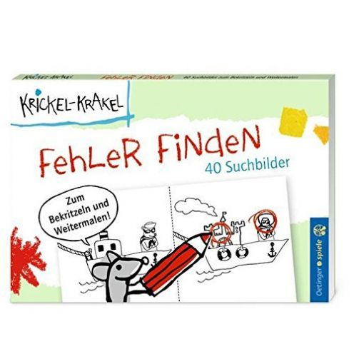 Oetinger Verlag krickel-krakel-blockspiel-fehler-finden