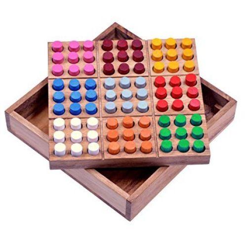 Logoplay Holzspiele Farb Sudoku
