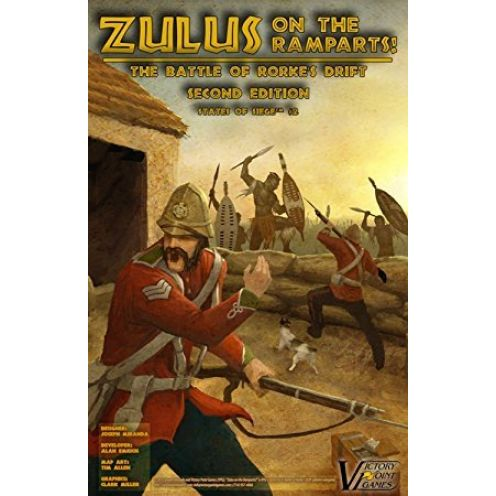 Victory Point Games Zulus on the Ramparts!