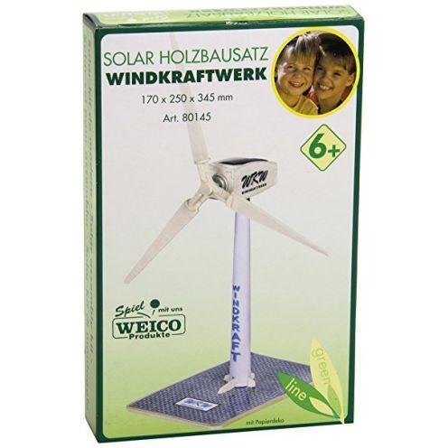 Weico 80145 Holzbausatz Windrad