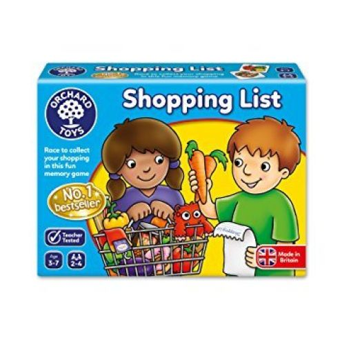 Orchard Toys Einkaufsliste Shopping List