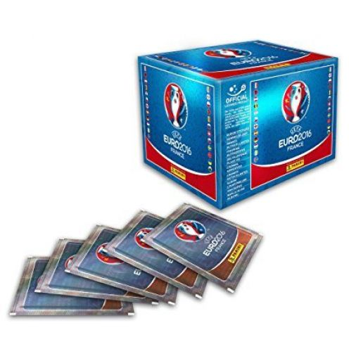 Panini Euro 2016 Stickerbox mit 100 Tüten
