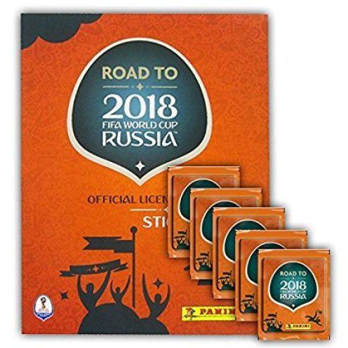 Panini FIFA Worldcup 2018 Road to Russia