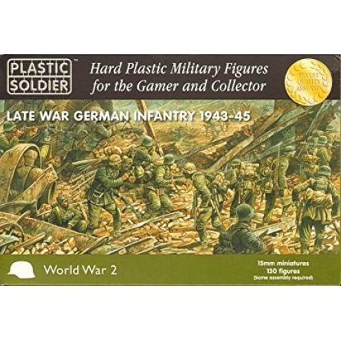 Plastic Soldier Company WW2 Late War German Infantry