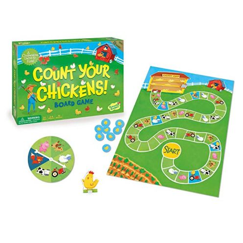 Continuum Games Count your Chickens Board Game