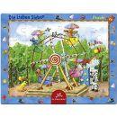 Coppenrath Verlag 21381 - Puzzle Die Lieben Sieben - Auf dem Jahrmarkt