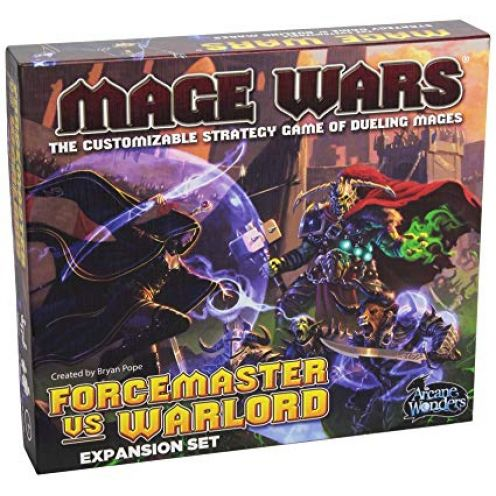 Arcane Wonders MWXFW - Mage Wars Forcemaster vs. Warlord Expansion