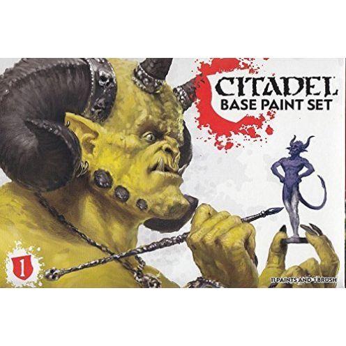Games Workshop 99179950002 Citadel Base Farb-Set