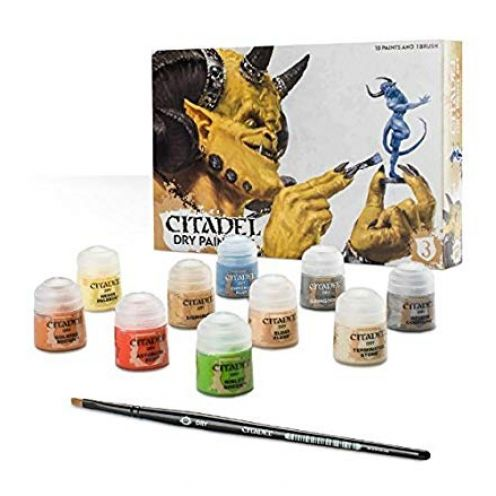 Games Workshop 99179952002 Citadel Dry Paint Set