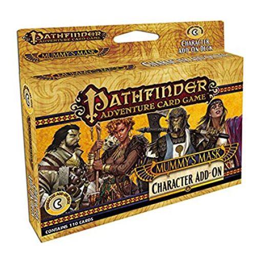 Paizo Publishing PAI06031 - Kartenspiel Pathfinder: Mummy's Mask Characters