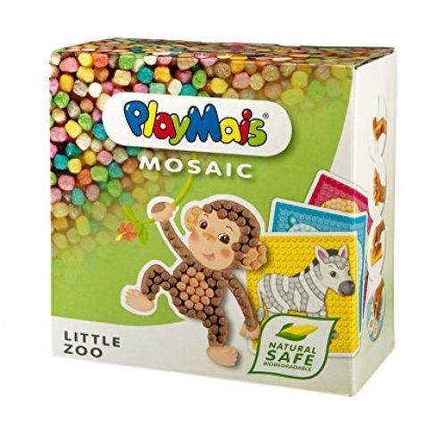 PlayMais 160180 - PlayMais Mosaic Little Zoo