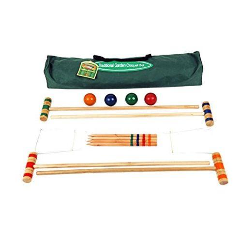 Traditional Garden Games 75cm Croquet Set