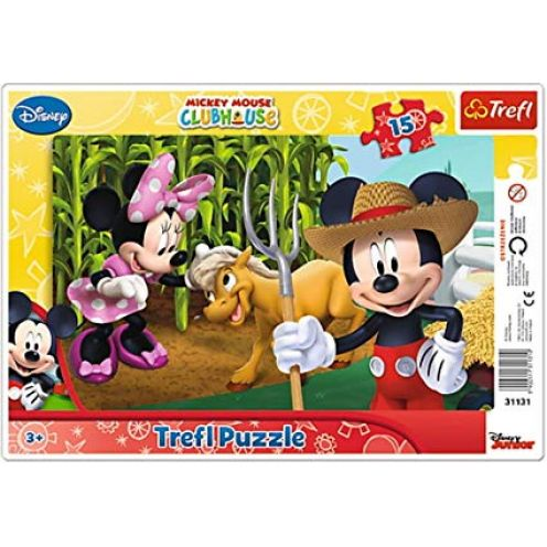 Trefl Mickey Mouse in the Countryside Frame-Puzzle