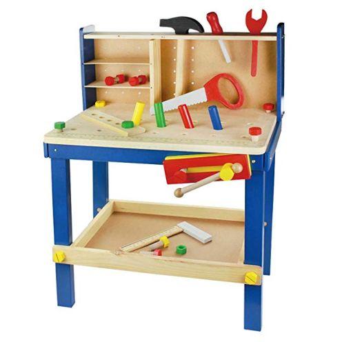 Leo & Emma - Spielwerkbank aus Holz